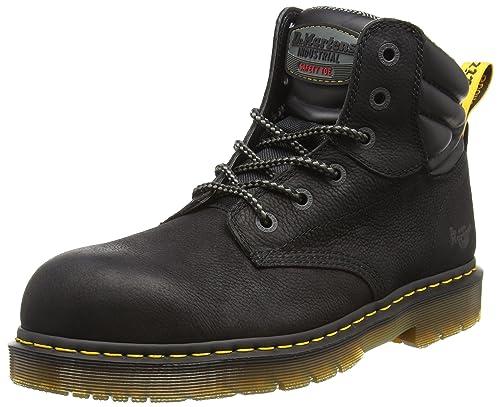Dr. Martens Hynine St, Zapatos de Seguridad Unisex Adulto, Negro (Black 001