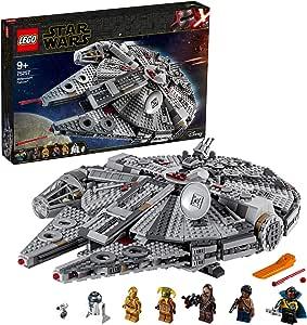 LEGO Star Wars 75257 Millennium Falcon Starship Building Kit (1353 Pieces)