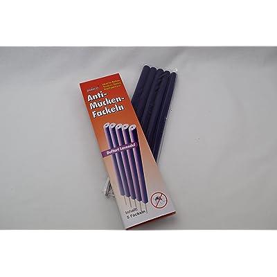 """'10x Anti Moustiques flambeaux """"Lavender giftfreier Moustiquaire insectes Protection Anti-Moustiques torche"""