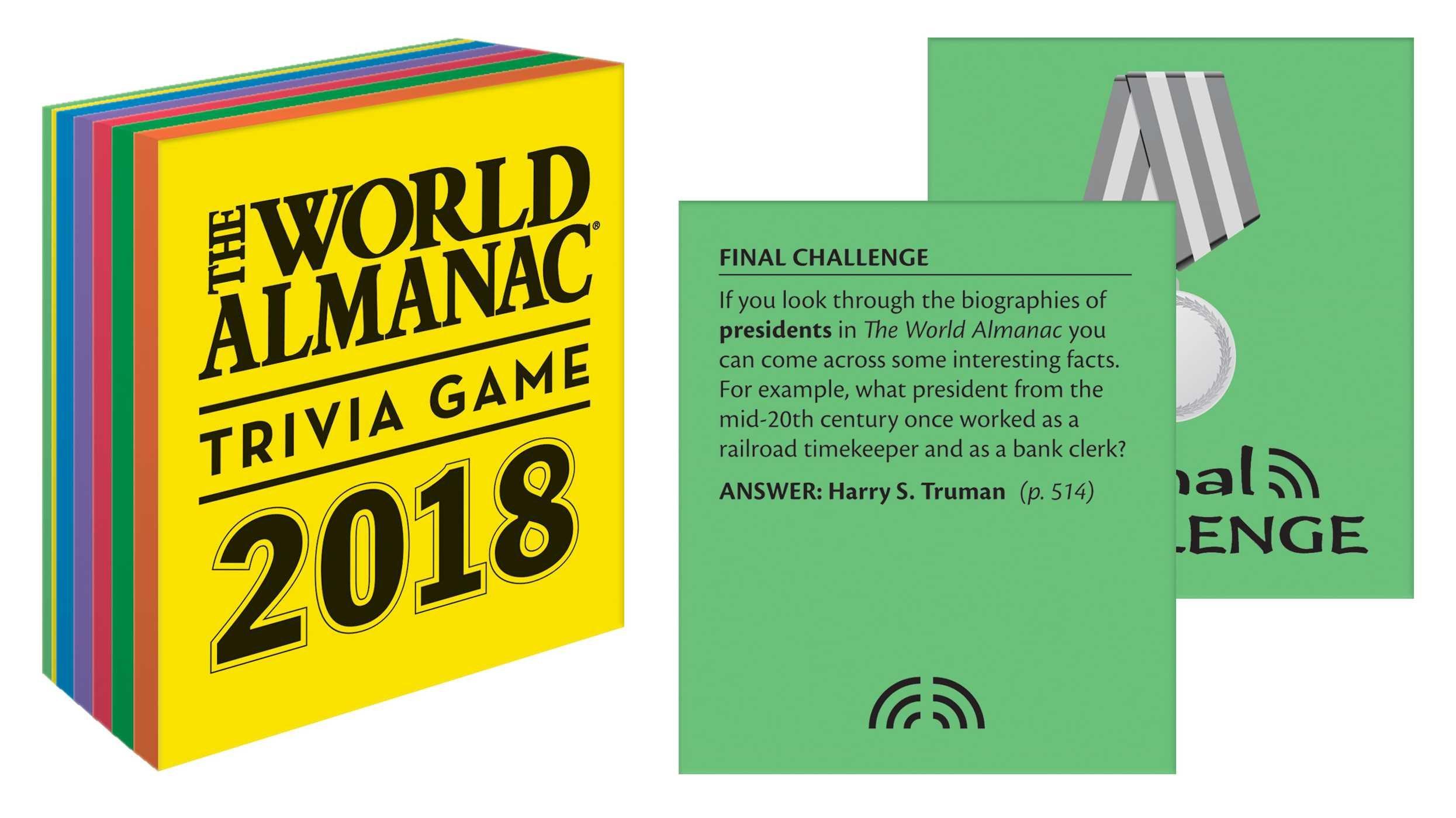 The world almanac 2018 trivia game world almanac and book of facts the world almanac 2018 trivia game world almanac and book of facts sarah janssen 9781600572166 amazon books fandeluxe Gallery