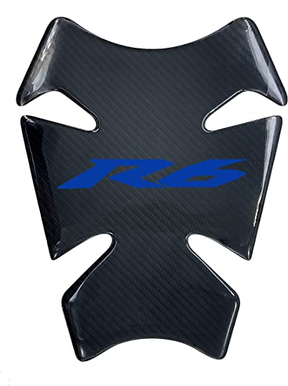5 Layer Real Carbon Fiber 3D Red Sticker Vinyl Decal Emblem Protection Gas Tank Pad For Suzuki SV650 All Models