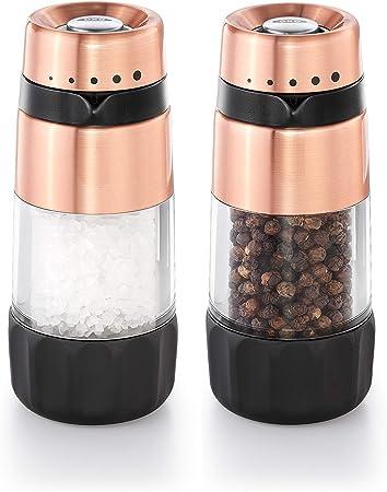 OXO Good Grips 2-in-1 Salt /& Pepper Grinder Adjustable Refillable Kitchen NEW!!!