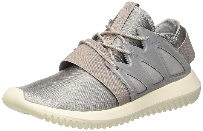 Amazon.com  Adidas Tubular Viral Womens Sneakers Grey  Clothing 07622d85fb