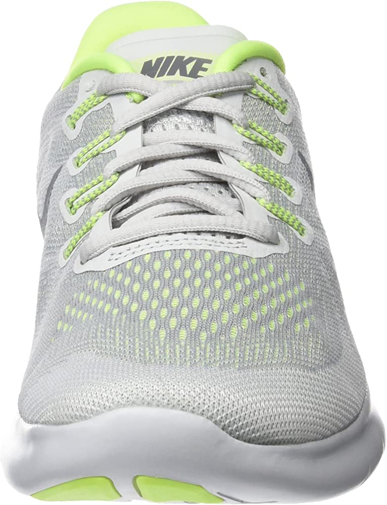 Nike Wmns Free Rn 2017, Zapatillas de Running Mujer, Gris (Wolf ...