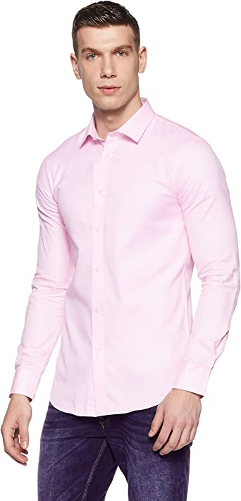 Celio Tcarox Camisa, Rosa (Light Pink 01 Light Pink 01 ...