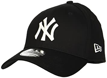37299a9675034a New Era MLB Basic NY Yankees 39THIRTY Stretch Back Black Casquette Homme,  Noir, FR