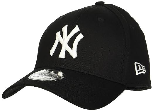 51019866766 New Era Men s MLB Basic NY Yankees 39Thirty Stretch Back Baseball Cap   Amazon.co.uk  Clothing