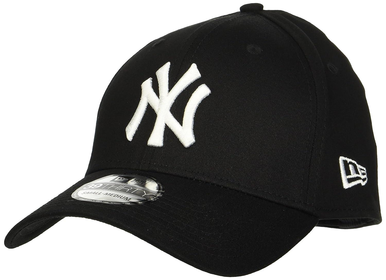 cf9a5d338f5ca New Era Men s MLB Basic NY Yankees 39Thirty Stretch Back Baseball Cap  New  Era  Amazon.co.uk  Clothing