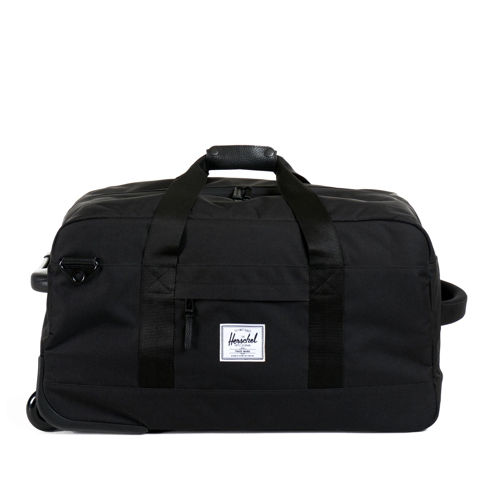 Herschel Supply Co. Wheelie Outfitter, Black, One Size