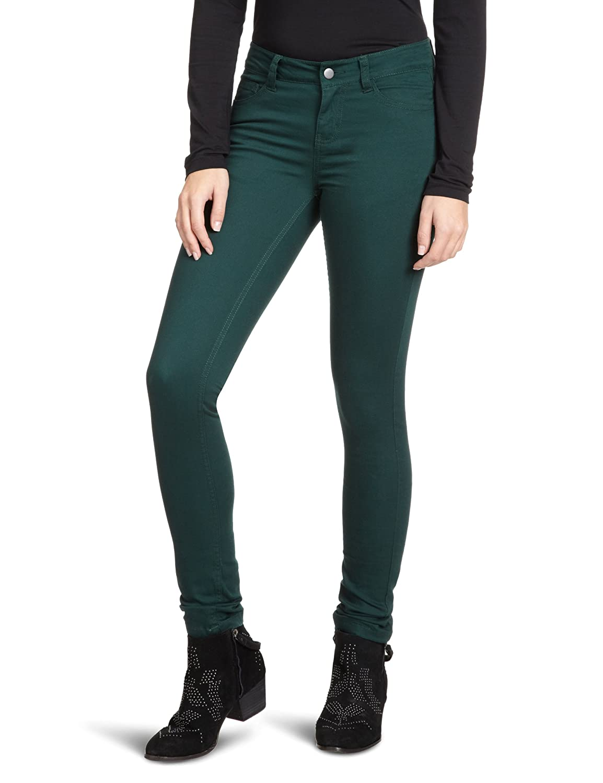 TALLA 40/42. PIECES - Pantalón Skinny/Slim fit para Mujer