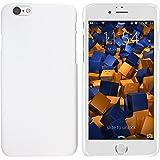 mumbi Schutzhülle für iPhone 6 6s Hülle (harte Rückseite) matt weiss