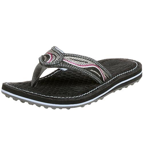Buy Clarks Privo Women's Bon Bon 2 Flip Flop, Black, 11 M at