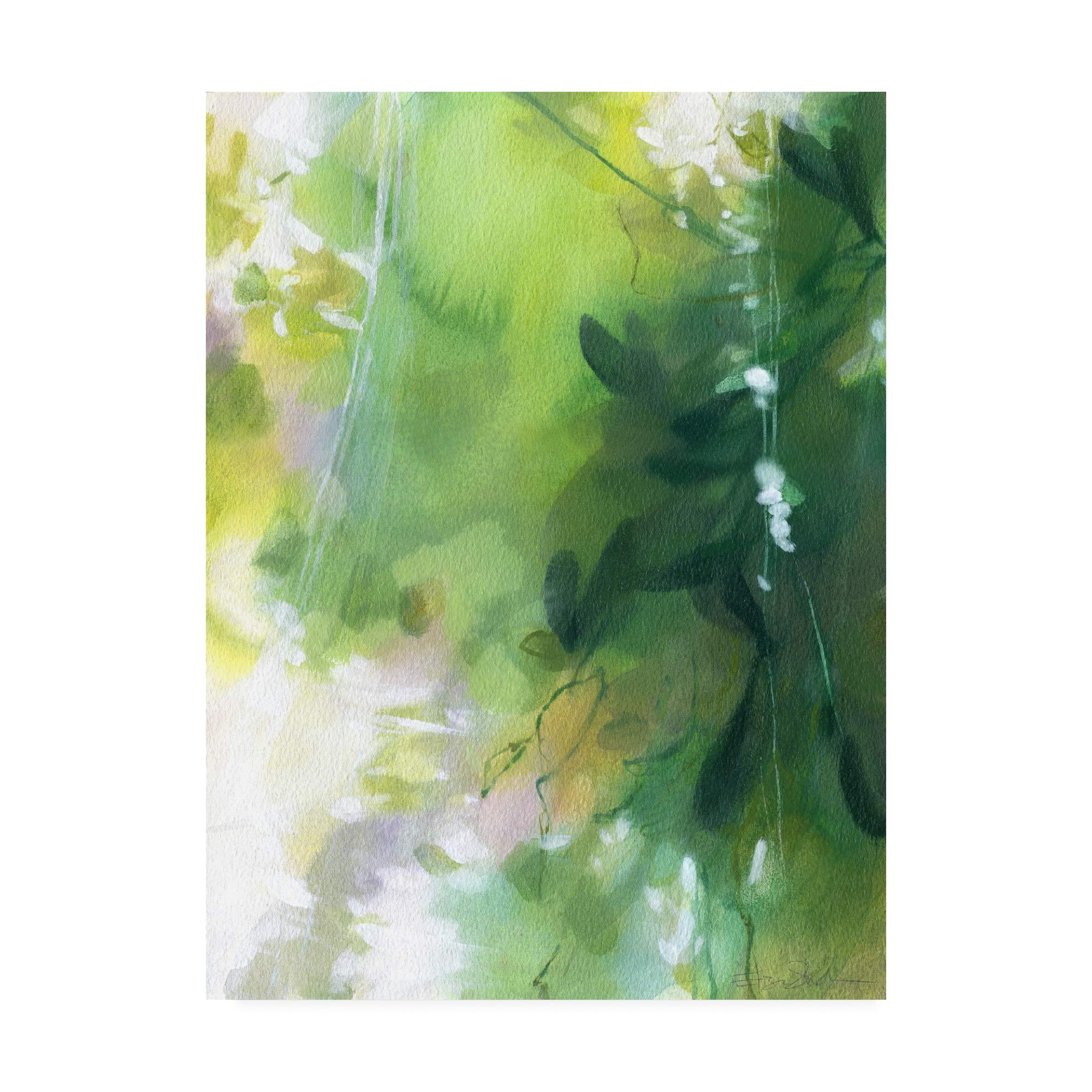 Trademark Fine Art IC01629-C3547GG Verdant Shallows II by Elisa Sheehan, 35x47, Multiple