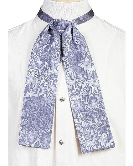 Victorian Mens Ties  Mens Old West Silk Puff Tie $32.50 AT vintagedancer.com