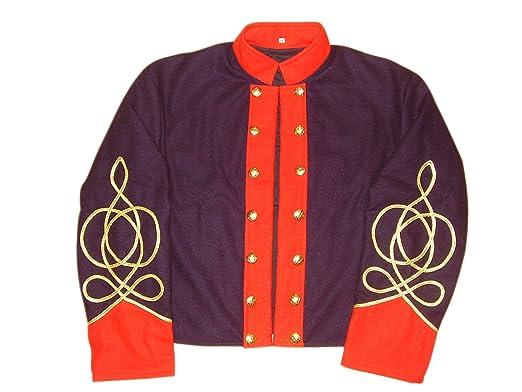 10Code US Civil War Confederate Artillery Shell Jacket Grey Clothing