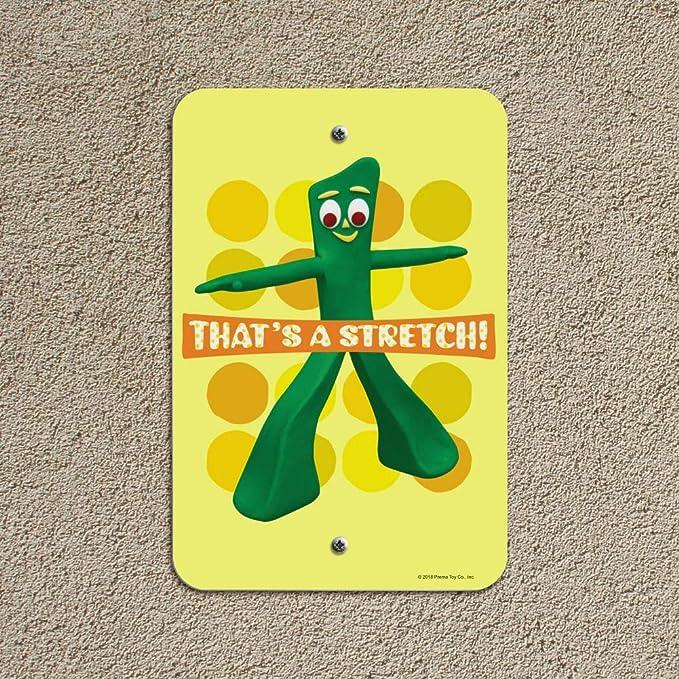 Amazon.com: GRAPHICS & MORE Yoga Gumby Thats a Stretch Home ...