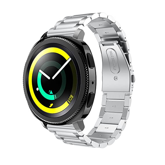 Amazon.com: Senter for Samsung Gear Sport Band,Stainless ...