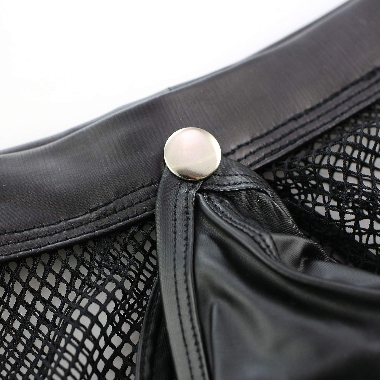 IYUNYI Mens Transparent Waterproof Jackets and Boxers Shorts Set