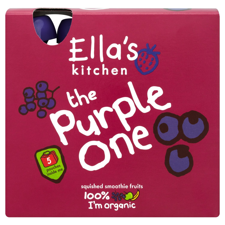 Ella's Kitchen - Smoothies - The Purple One - 5x90g (Case of 6) by Ella's Kitchen