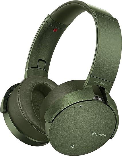 Sony XB950N1 Extra Bass Wireless Noise Canceling Headphones, Green