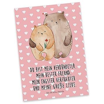 Mr Mrs Panda Postkarte Baren Liebe 100 Handmade In