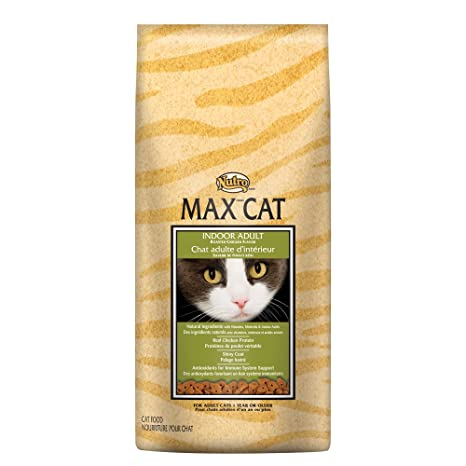 NUTRO MAX CAT Indoor Adult Roasted Chicken Flavor Dry Cat Food 6 Pounds by Nutro