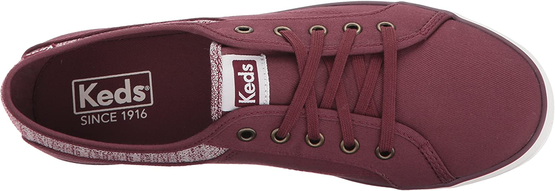 Keds Women's Coursa Knit Fashion Sneaker Burgundy