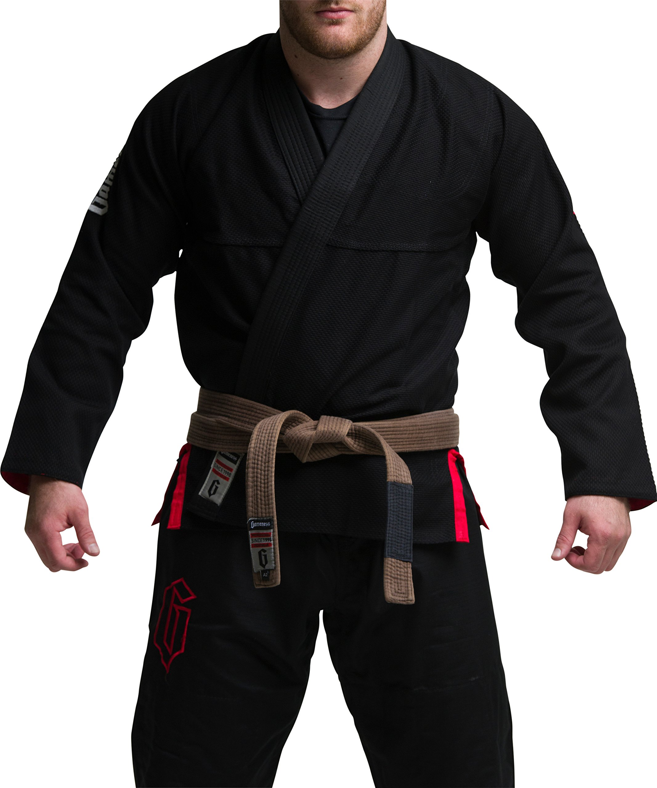 Gameness Jiu Jitsu Air Gi Black A1 by Gameness