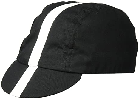 Image Unavailable. Image not available for. Color  Pace Sportswear Classic  Cycling Cap  Black with White ... a2854159b