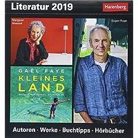 Literatur - Kalender 2019: Autoren, Werke, Buchtipps, Hörbücher