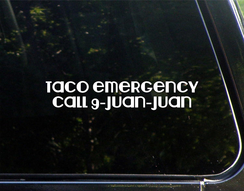 Taco Emergency Call 9-Juan-Juan - 8-3/4