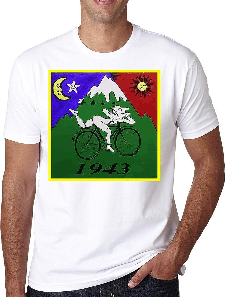 ShutUp Co. Albert Hofmann First LSD Trip Camiseta para Hombre Small: Amazon.es: Ropa y accesorios
