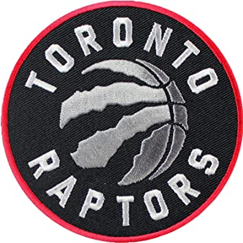 amazon official toronto raptors logo large sticker iron on nba