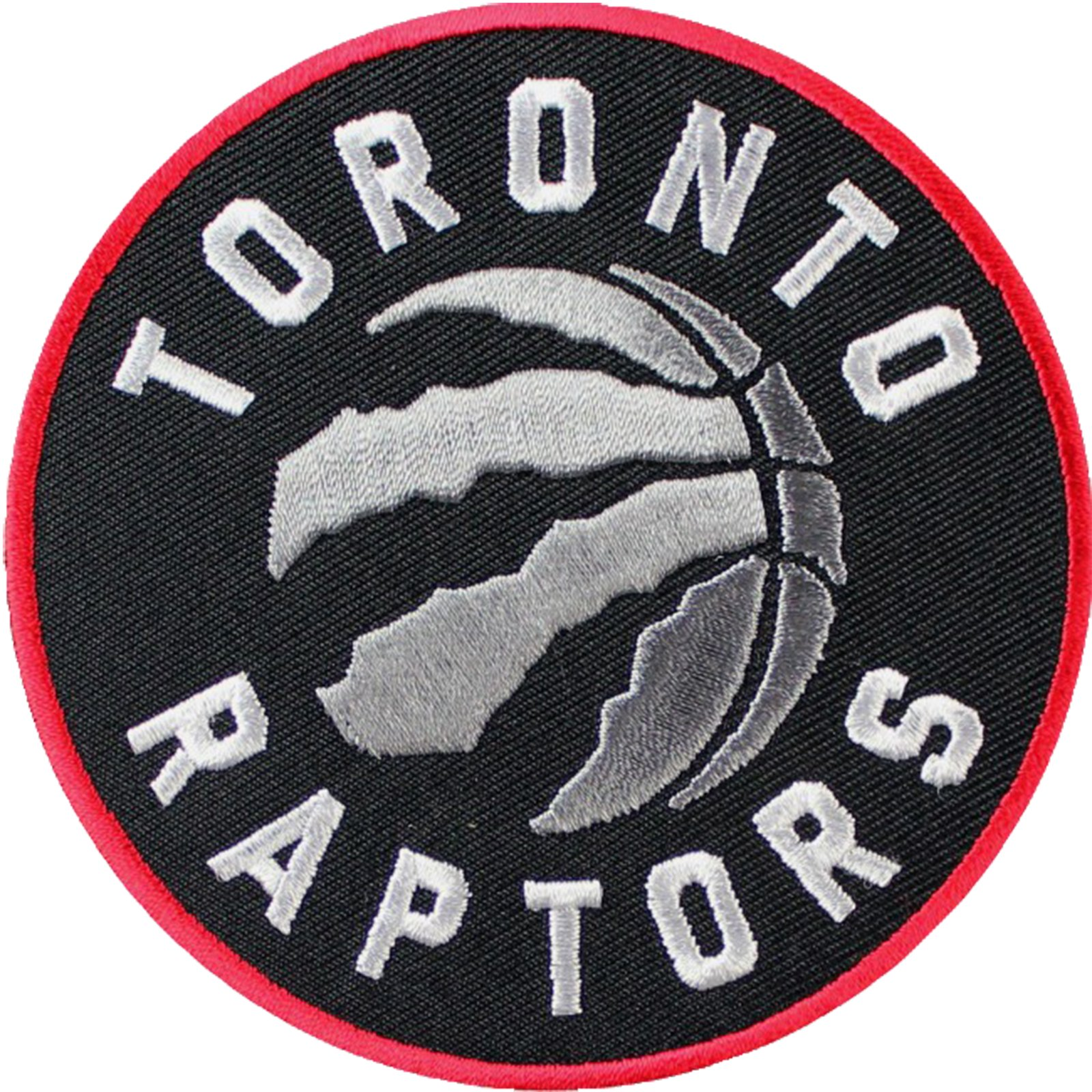 Official Toronto Raptors Logo Large Sticker Iron On NBA Basketball Patch Emblem