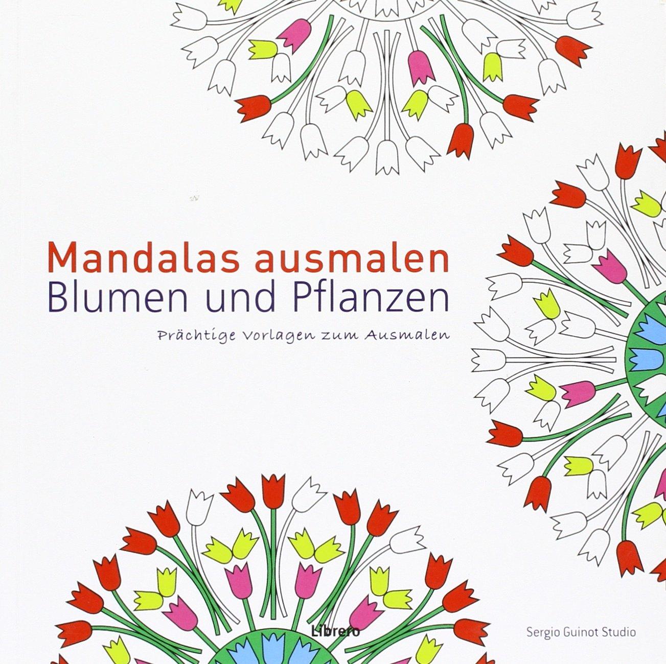 Mandalas Ausmalen Blumen Und Pflanzen 9789089983930 Amazon Com