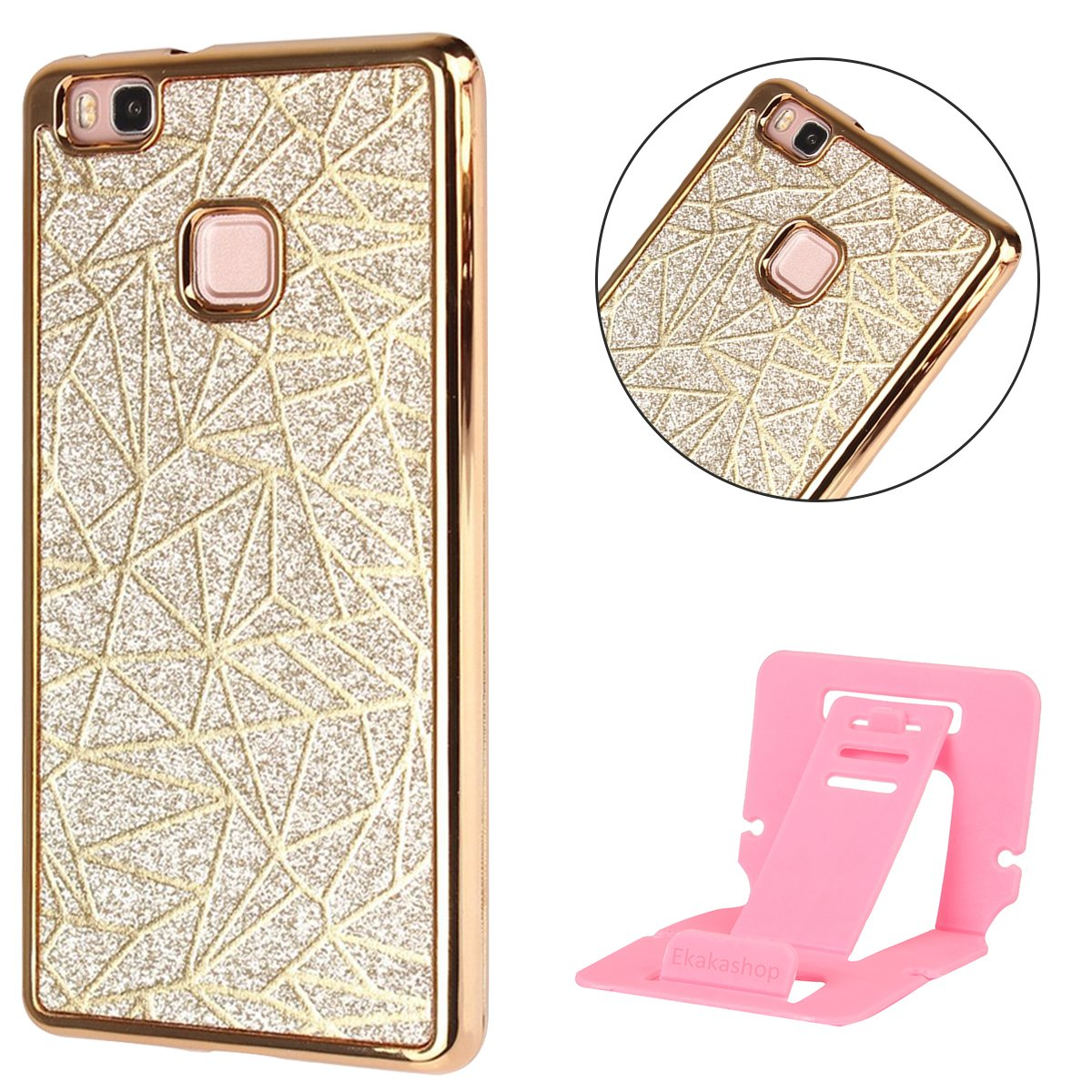 Coque iPhone SE,Strass Coque pour iphone 5s,Ekakashop Jolie 3D Cube d'eau en Argent Bling Shiny Brillant Coque de Protection en TPU Silicone Crystal Clair Souple Gel Housse Protecteur Back Cover Rigide Defender pour Apple iPhone SE / 5S / 5 + 1X cartes gra