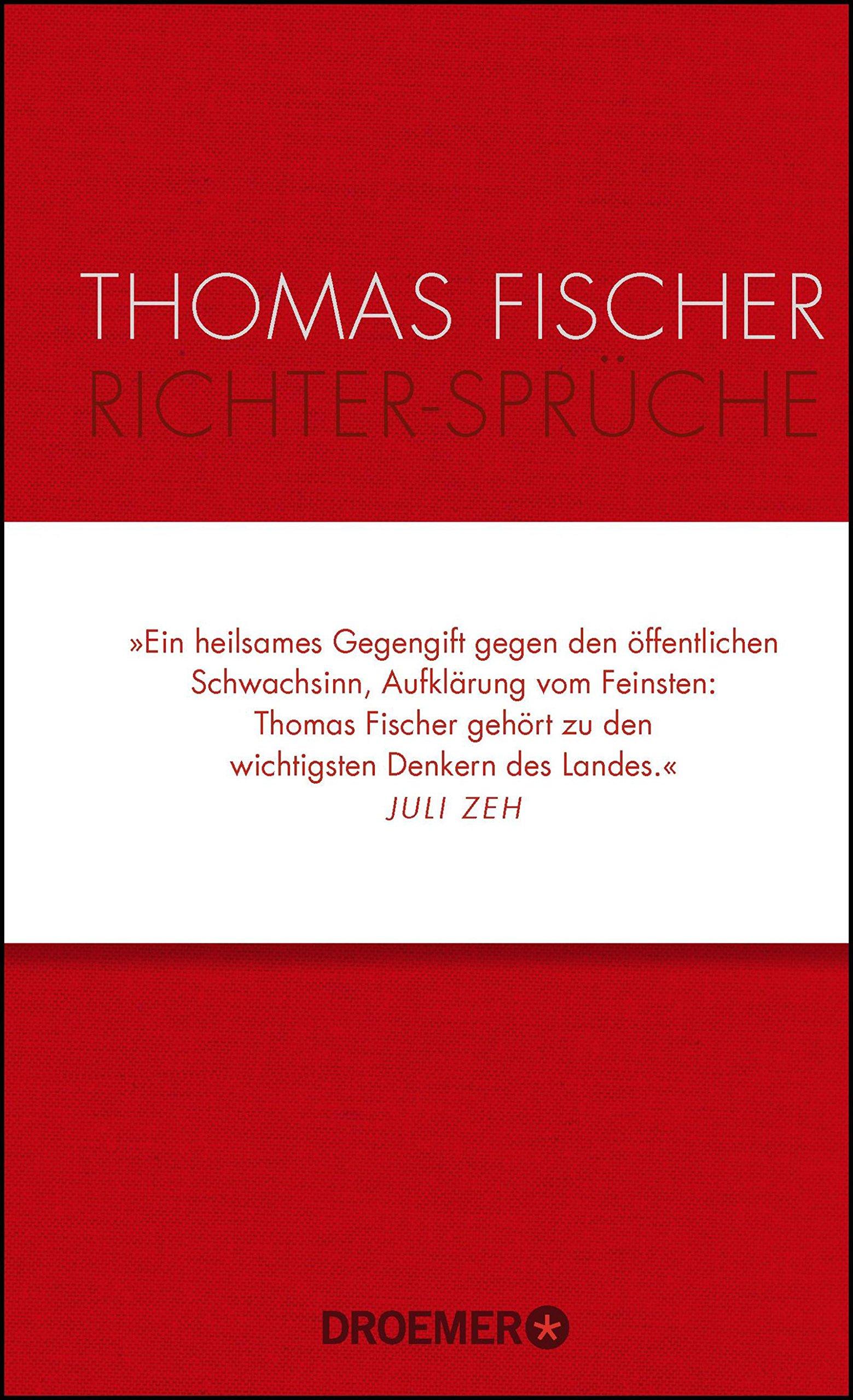 Richter-Sprüche: Amazon.de: Thomas Fischer: Bücher