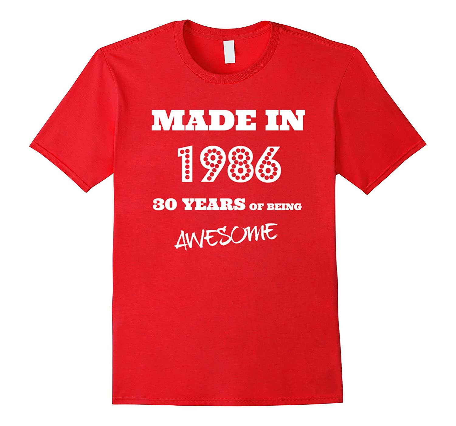 Made in 1986 - 30th bday hoodie-BN