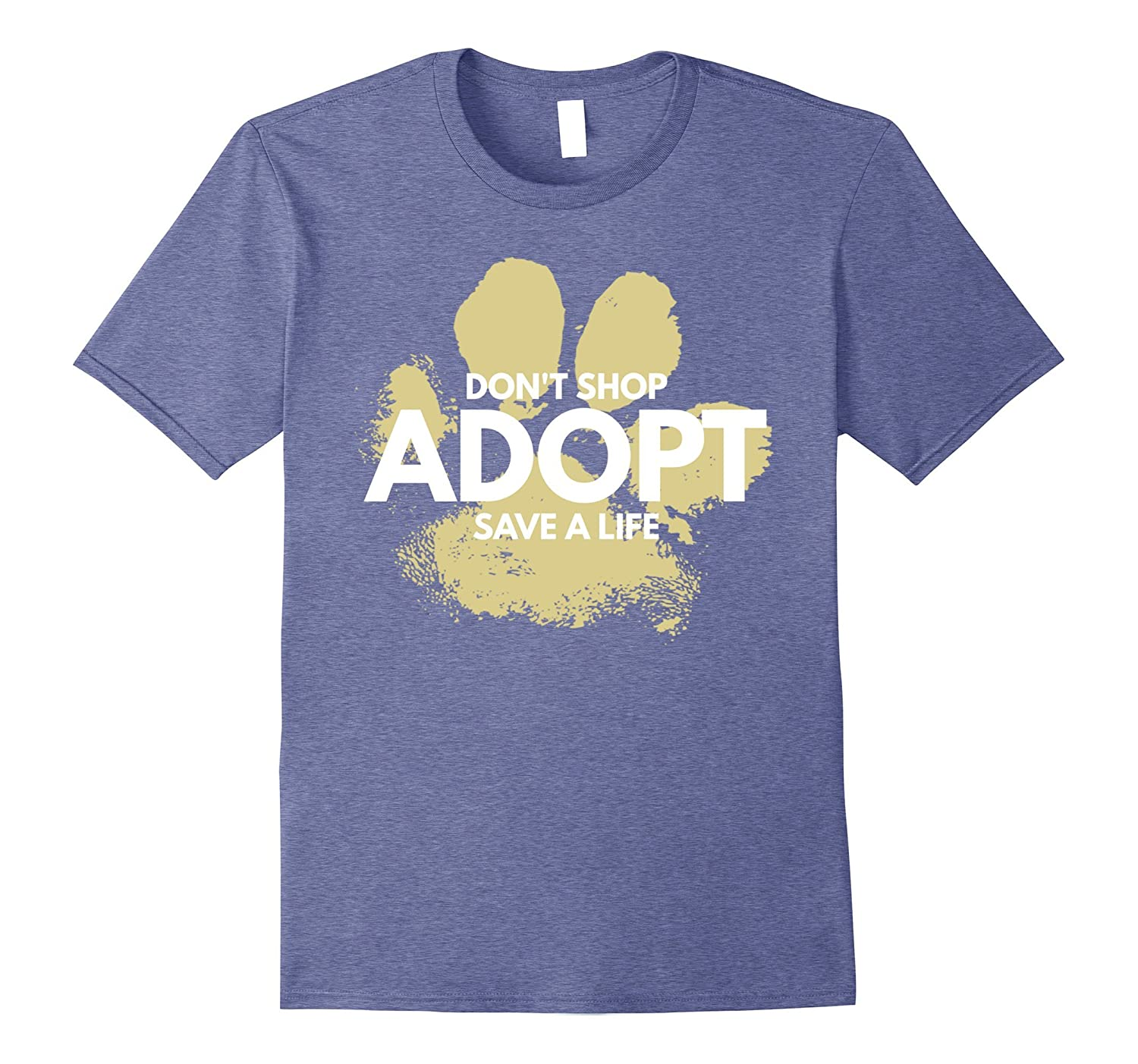 Dont Shop Adopt Dog Cat Rescue Kind Animal Rights Lover-Vaci