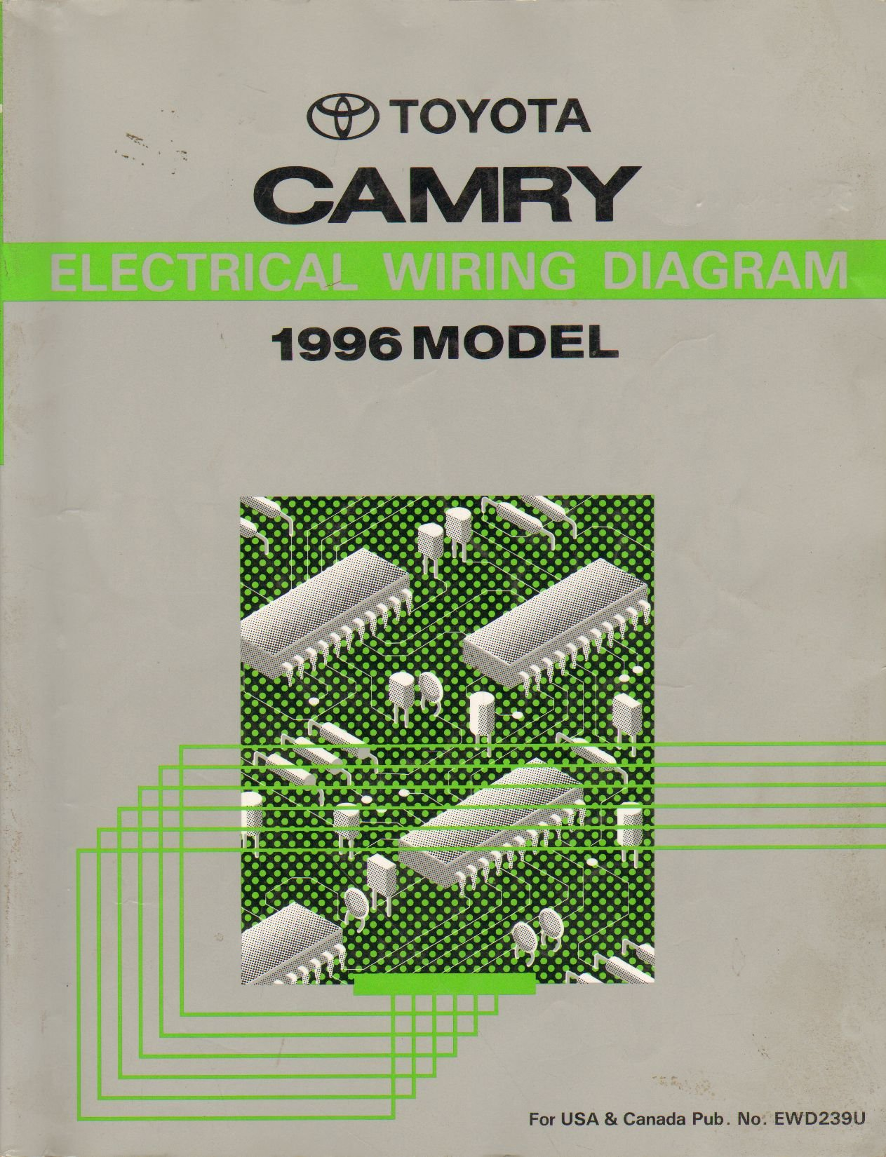 1996 toyota camry electrical wiring diagram shop manual: toyota:  amazon.com: books  amazon.com
