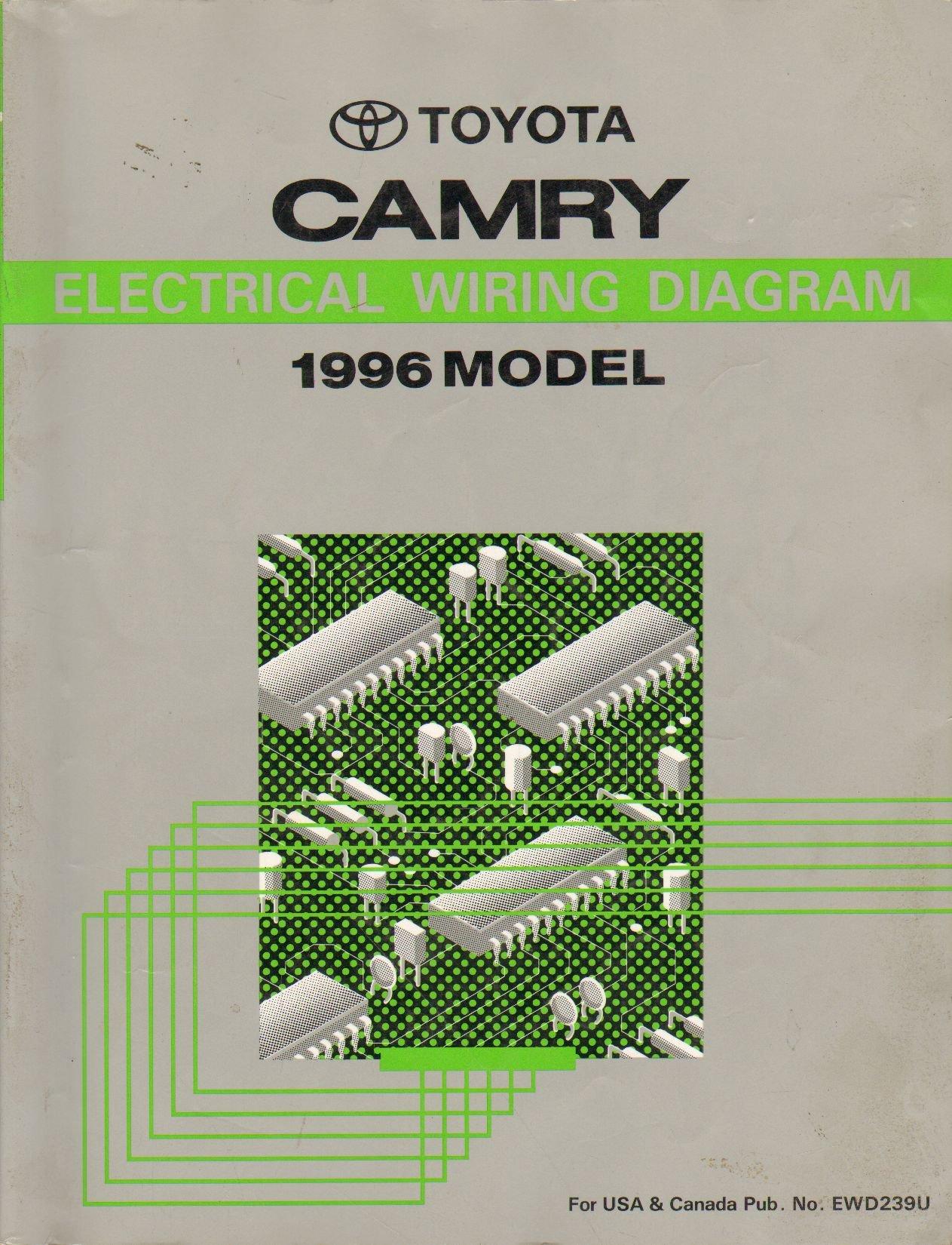 1996 Toyota Camry Electrical Wiring Diagram Shop Manual: toyota:  Amazon.com: BooksAmazon.com