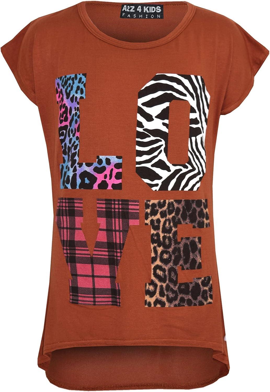 A2Z 4 Kids/® Ragazze Comico Graffiti Floreale Plain Leopard Stampare alla Moda Moda Leggings et/à 7 8 9 10 11 12 13 Anni