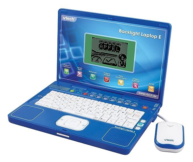 Amazon.es: VTech 80-029714 Backlight Laptop E - Ordenador portátil educativo para niños, color azul [importado de Alemania]