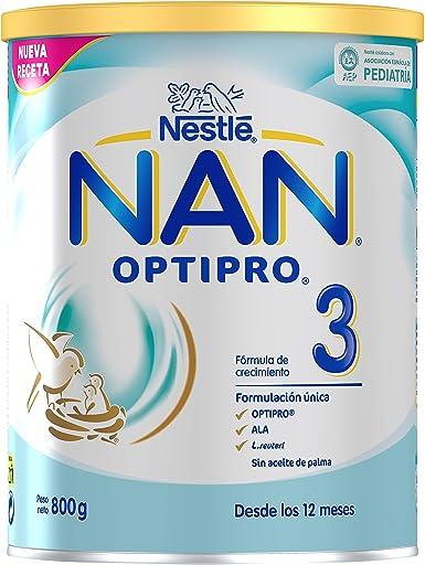 NAN OPTIPRO 3 - Preparado lácteo infantil - Fórmula de crecimiento ...