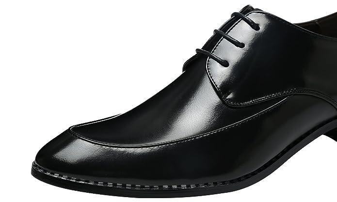 Günstige Rabatte Herren Derby-Schuhe Schnürhalbschuhe Retro Klassiker Oxfords Schnürer Modische Anzug Schuhe Silber 38 EU Santimon Steckdose Authentisch T7goO