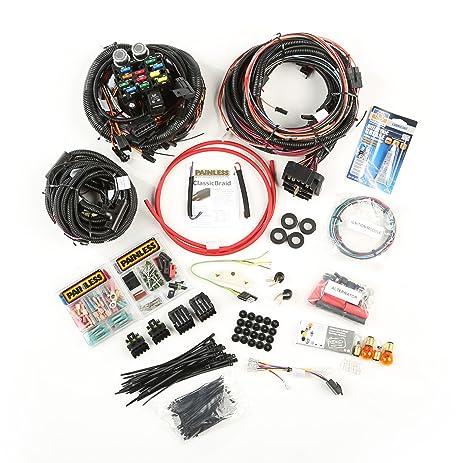 amazon com omix ada 17202 04 painless wiring harness for jeep cj rh amazon com