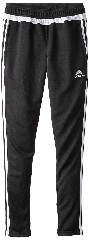 Adidas ユース Tiro 15トレーニングパンツ B00OB402R2 XL|ブラック/ホワイト/ブラック ブラック/ホワイト/ブラック XL