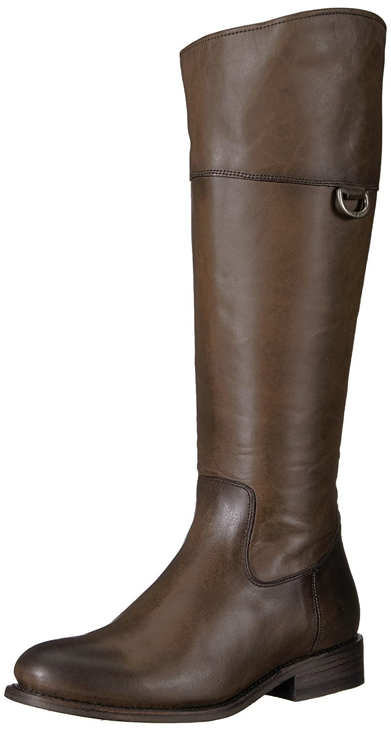 FRYE Women's Jayden D Ring Riding Boot B01MV7DHXL 8.5 B(M) US|Smoke