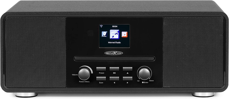 Reflexion Hra19int Dab Und Internetradio Mit Cd Player Elektronik