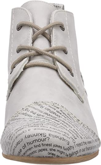 Rieker Damen 47042 Desert Boots, Weiß (Ice 81), 42 EU
